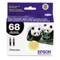 Epson T0681 (T068120) High Capacity Original Black Single Cartridge