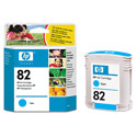 HP 82 Original Cyan Inkjet Cartridge (C4911A)