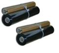 Compatible Black Sharp UX-15CR Thermal Fax Ribbon Refill Rolls - Pack of 2
