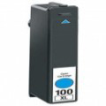 Compatible Cyan Lexmark No.100XL High Yield Ink Cartridge (Replaces Lexmark 14N1069)