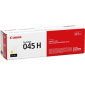Canon 045H (1243C001) Yellow Original High Capacity Toner Cartridge