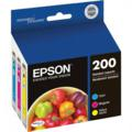 Epson 200 (T200520) Color Original DURABrite Ultra Standard Capacity Multipack