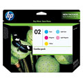 HP 02 (CC604FN) Original Color Pack With Vivera Ink (C/M/Y/LC/LM)