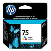 HP 75 Tri-Color Original Ink Cartridge with Vivera ink (CB337WN)