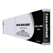 Roland ESL3-4BK Black Compatible Eco-Sol MAX High Capacity Ink Cartridge