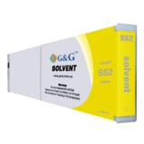 Compatible Yellow Mimaki SS2Y Eco-Solvent Ink Cartridge