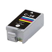 Compatible Color Canon CLI-36 Ink Cartridge (Replaces Canon 1511B001)