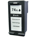 HP 74XL Black Remanufactured Ink Cartridge (CB336WN)