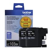 Brother LC1032PKS Black Original High Capacity Ink Cartridge Twin Pack