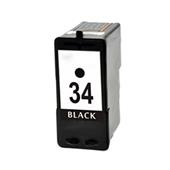 Lexmark No. 34 (18C0034) Black Remanufactured High Yield Inkjet Print Cartridge