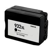 HP 932XL Black Remanufactured High Capacity Ink Cartridge (CN053AN)