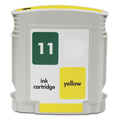HP 11 Yellow Remanufactured Printer Ink Cartridge (C4838AN)