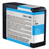 Compatible Cyan Epson T5802 Ink Cartridge (Replaces Epson T580200)