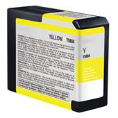 Compatible Yellow Epson T5804 Ink Cartridge (Replaces Epson T580400)