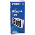 Epson T478(T478011) Original Light Magenta Ink Cartridge