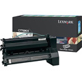 Lexmark C7700KH Original Black High Yield Return Program Laser Toner Cartridge