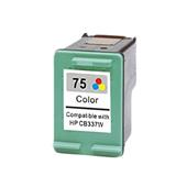 HP 75 Tri-Color Remanufactured Ink Cartridge (CB337WN)