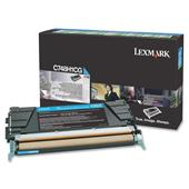 Lexmark C748H1CG Cyan Original High Capacity Return Program Toner Cartridge