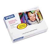Epson Premium Photo Paper   68 lbs.   High-Gloss   4 x 6   100 Sheets/Pack