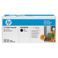 HP Q6000AD Original Black Laser Toner Cartridge (Twin Pack)