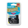 Brother M531 Original P-Touch Label Tape -  1/2 x 26.2 ft (12mm x 8m) Black on Blue