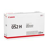 Canon 052H Black Original High Capacity Toner Cartridge (2200C001AA)