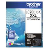 Brother LC20EBK Black Original Print Cartridge