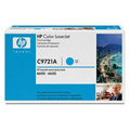 HP Color LaserJet C9721A Cyan Original Print Cartridge with Smart Printing Technology