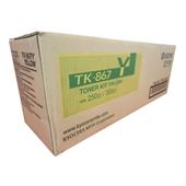 Kyocera-Mita TK-867Y Yellow Original Toner Cartridge