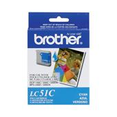 Brother LC51C Cyan OEM Print Cartridge