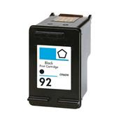 Compatible Black HP 92 Ink Cartridge (Replaces HP C9362WN)