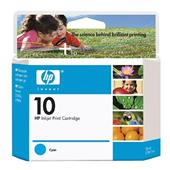 HP 10 Cyan Original Ink Cartridge (C4841A)