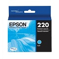 Epson DURABrite Ultra 220 Cyan Ink Cartridge (T220220)
