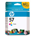 HP 57 Tri-Color Original Inkjet Print Cartridge (C6657AN)