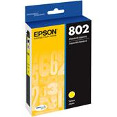 Epson T802 Yellow Original Standard Capacity Ink Cartridge