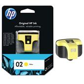 HP 02 Yellow Original Ink Print Cartridge (C8773WN)
