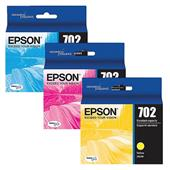 Epson 702 (T702520) Colour Original Standard Capacity Ink Cartridge Multipack