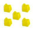 Compatible Yellow Xerox 016204700 Solid Ink Cartridge - Pack of 5