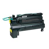 Compatible Yellow Lexmark C792X1YG Extra High Yield Toner Cartridge