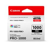 Canon PFI-1000PBK Photo Black Original Ink Cartridge (0546C001)