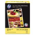 HP All-In-One Printing Paper  96 Brightness  22lb  8-1/2 x 11  White  500 Shts/Ream