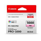 Canon PFI-1000PM Photo Magenta Original Ink Cartridge (0551C001)