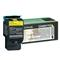 Lexmark C540H1YG Yellow High Capacity Return Program Laser Toner Cartridge
