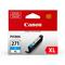 Canon CLI-271XLC Cyan Original High Capacity Ink Cartridge