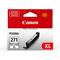 Canon CLI-271XLGY Gray Original High Capacity Ink Cartridge