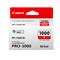 Canon PFI-1000R Red Original Ink Cartridge (0554C001)