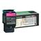 Lexmark C540A1MG Magenta Return Program Laser Toner Cartridge