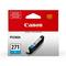 Canon CLI-271C Cyan Original Standard Capacity Ink Cartridge