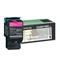 Lexmark C540H1MG Magenta High Capacity Return Program Laser Toner Cartridge