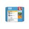 HP 70 (CB341A) Original Gray Ink Cartridge (Twin Pack)